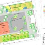 Plan des Umgestaltungskonzepts