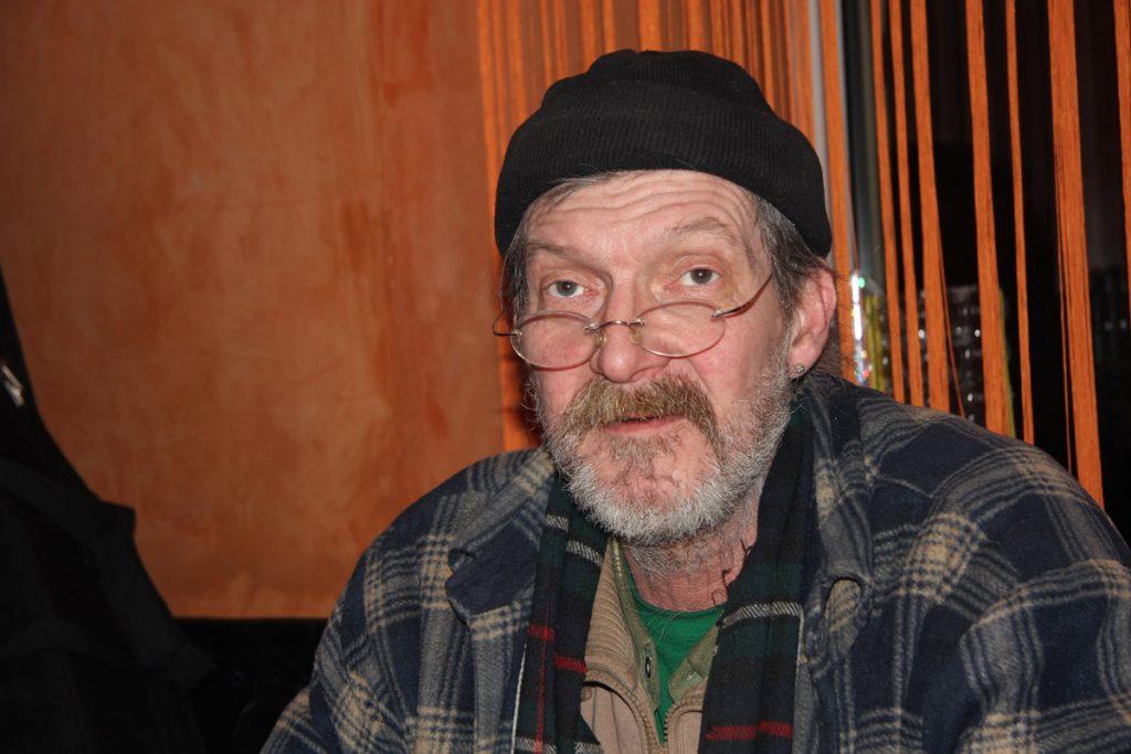 Peter im Café Club Horizont