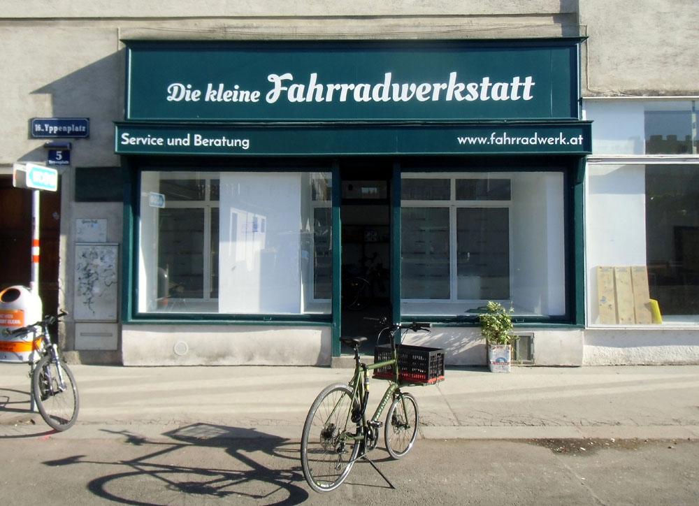 Die kleine Fahrradwerkstatt, Yppenplatz